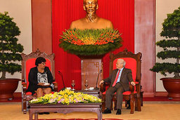Vietnamese Communist Leader Receives Cuban Official
